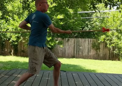 Shaolin Kung Fu Spear Form 01 (partial)
