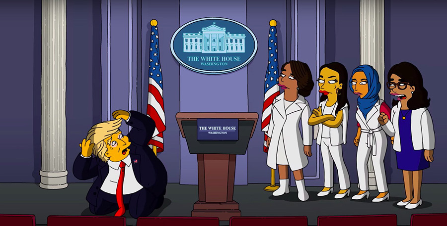 Simpsons and Trump