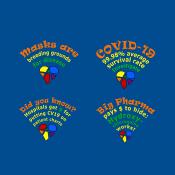 Free Covid Truth T-shirt designs