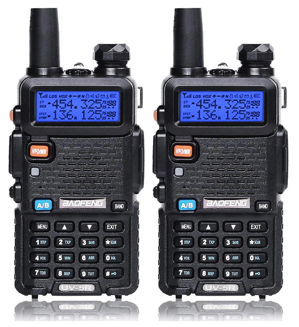 Baofeng UV-5R Two Way Dual Band Radio