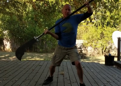 Shaolin Kung Fu Weapons Practice
