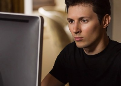 Pavel Durov of Telegram